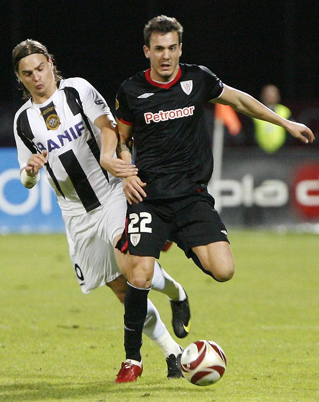 Etxeberria salva al Athletic al marcar un penalti en el minuto 82