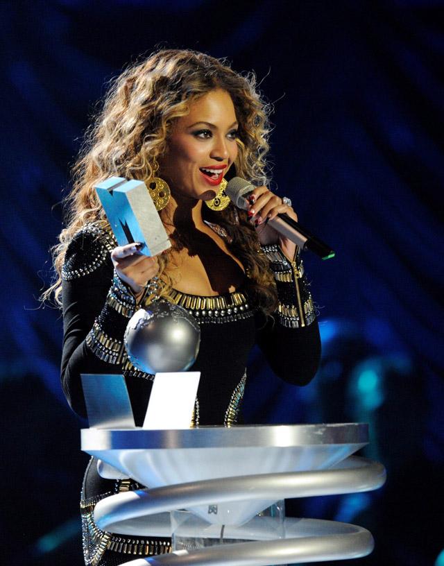 Beyonce arrasa en los MTV Europe Music Awards