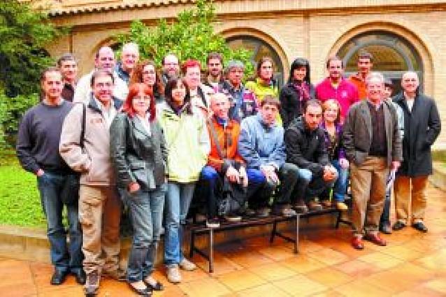 Un encuentro de voluntariado en ríos reunió en Marcilla a 25 personas