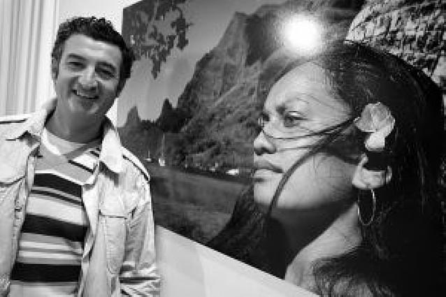 Patxi Uriz retrata Tahití