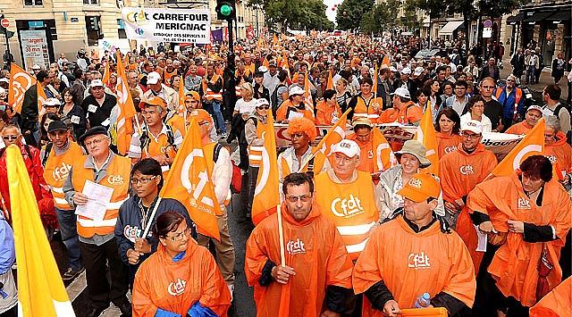 Más de un millón de franceses protestan contra la reforma de las pensiones