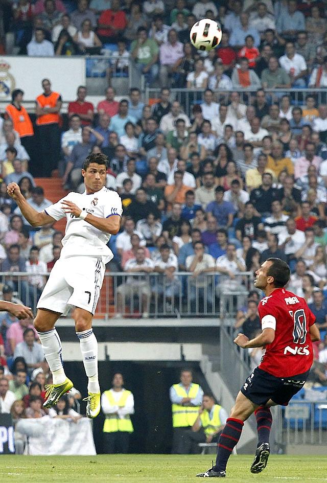 Osasuna pierde ante el Real Madrid por su falta de pegada