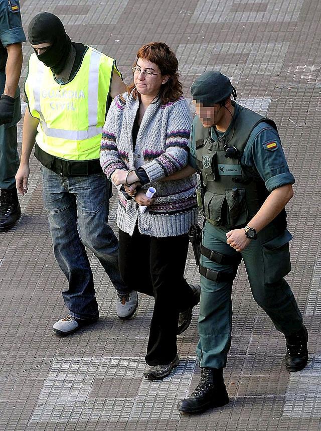 Un ex dirigente de Batasuna, detenido por oponerse al arresto de su hermano