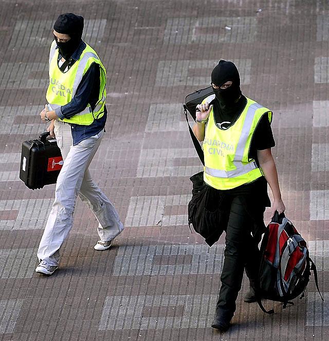 Detenidas un total de 81 personas relacionadas con actividades de la banda terrorista en lo que va de año