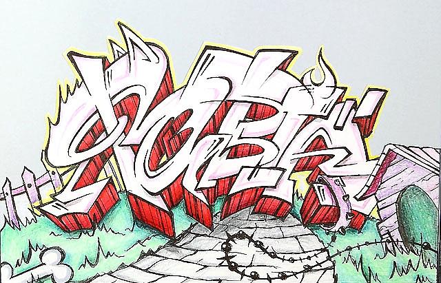 Siete creadores graffiteros pintarán sus bocetos el sábado en Mendillorri