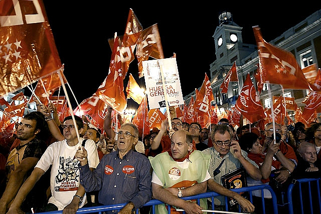 Los trabajadores navarros, convocados a secundar el 29-S sin la garantía de los servicios mínimos