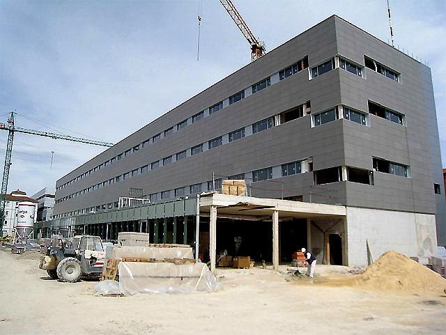 Las obras del Pabellón C del Complejo Hospitalario de Navarra concluirán a finales de este año