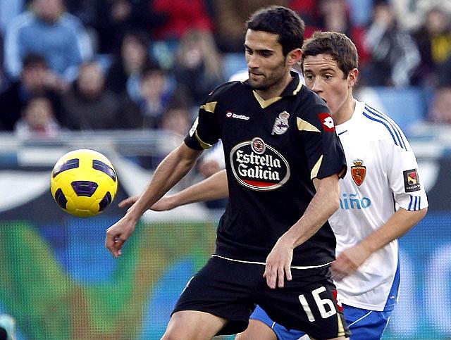 El Zaragoza sale del descenso y mete al Dépor en la lucha por la permanencia (1-0)