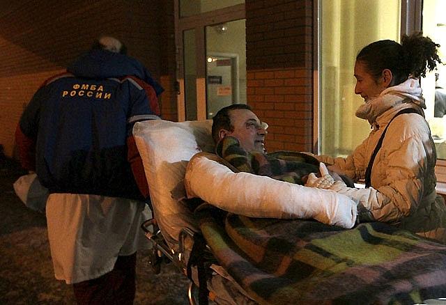 Al menos 35 muertos por un atentado terrorista en un aeropuerto de Moscú