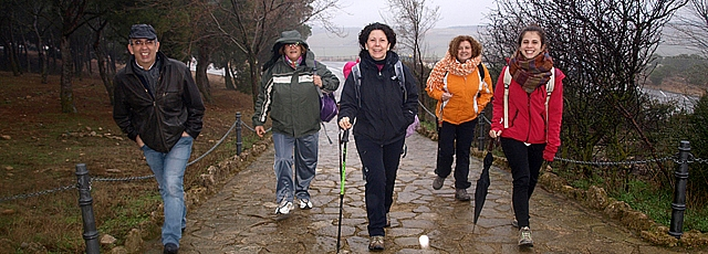 """Miles de peregrinos en la primera Javierada, celebrada bajo un sol """"grato"""" e """"imprevisto"""""""
