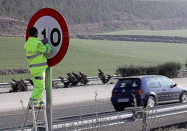 La limitación de 110 kilómetros por hora se aplicará en principio hasta el 30 de junio