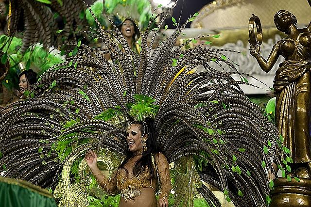 Brasil entra en ebullición con el carnaval